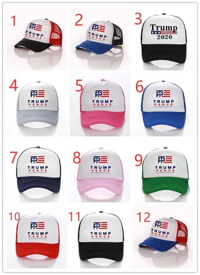 Heißer Verkaufs-Trump US-Präsidentschaftswahl Net Cap Outdoor Sports Sun Hat Support Customization CNE Schnelle Lieferung
