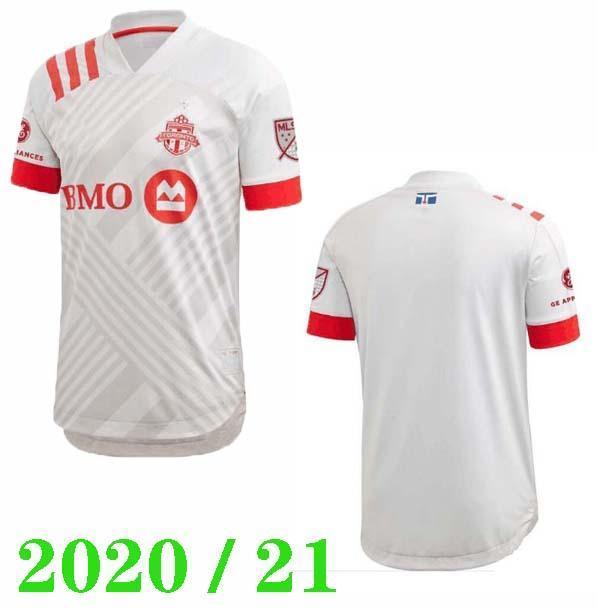 NOUVEAU 20 21 Toronto FC Maillots de football HOME 2020 2021 Jersey Altidore # 10 POZUELO soccer 2020 shirt MORROW BRADLEY JERSEY football chemises