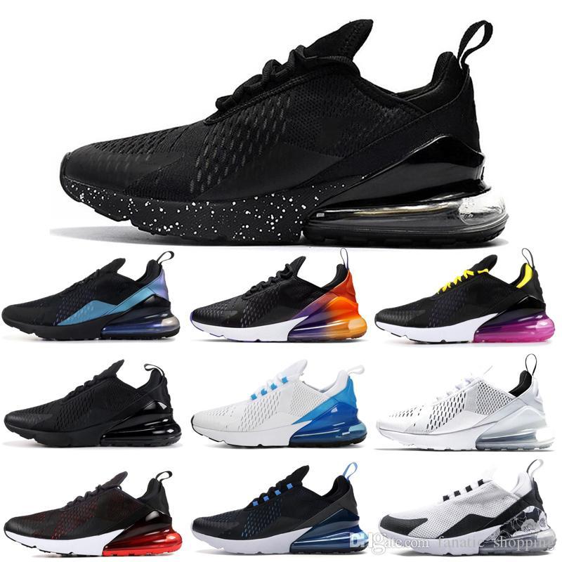 Nike Air Max 270 FIRECRACKER Kadın Erkek Koşu Ayakkabıları SE ÇIÇEK Turuncu Volt Gerileme Gerileme Gelecek GÖKKUŞAĞı ÇANTA Teal Erkek Eğitmen Spor Sneakers 36-45