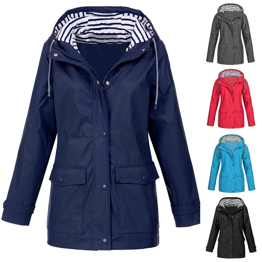 Toddler Rain Jacket Boys Long Sleeve Raincoat Waterproof Hooded Cute Animal Graffiti Coat