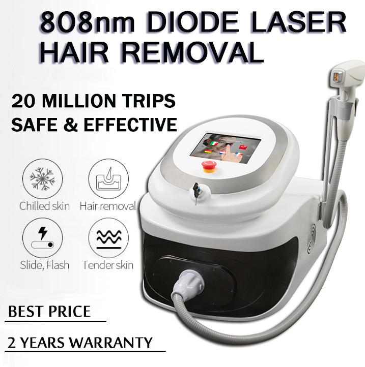 808nm laser diode hair removal machines no pain no side effect hair removal diode laser hair rmeoval 808nm