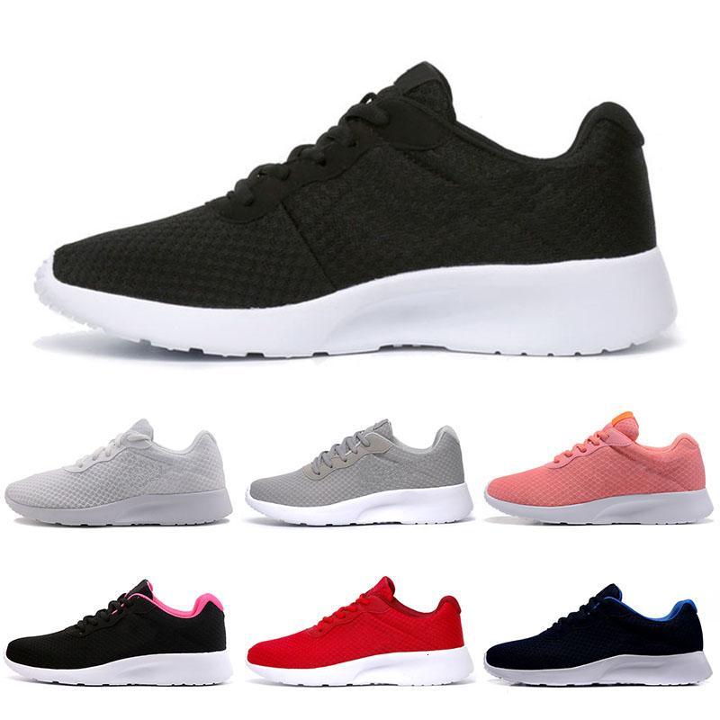 Tanjun Cheap 3.0 donna degli uomini Scarpe da corsa bianco nero donne olimpiche di Londra allenatore rosa dimensione Sneakers 36-44