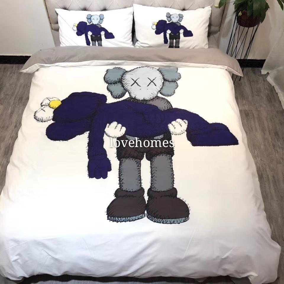 Luxury Home textiles quilt cover pillowcase sets warm Soft Classic Sanding Cotton Set for many size bed 4pcs/set HT2059