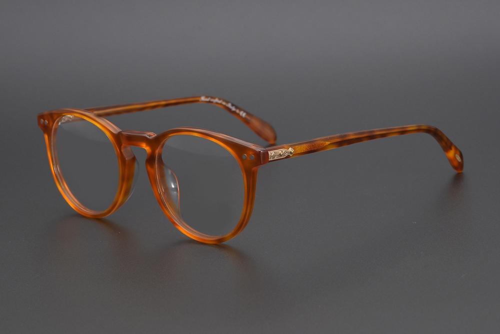 Prescrizione ottica Vintage miopia ottico occhiali cornice OV5256 Sir O'Malley occhiali rotondi donne degli uomini Spetacle montature