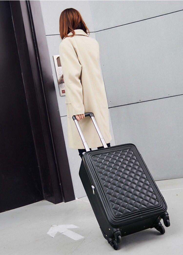"2travel conto 20 ""24 polegadas Monster Mala com Rod Seyahat Bavul Trolley Rolling Baggage Set"