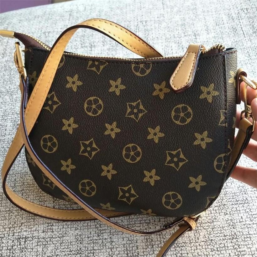 Ombro Casual Moda feminina Bag Handbag Lady Mini Bag Corpo Cruz sacos de alta qualidade PU Bolsas Mobile Phone Bag Tote Clemence New 3