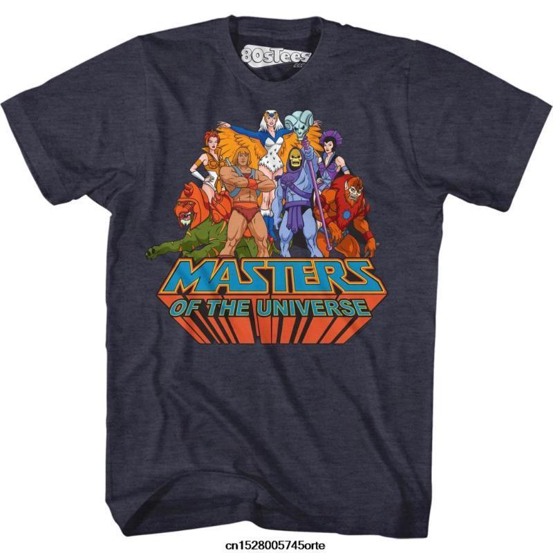 Impressos novos Mestres engraçadas camiseta da T-CAMISA Universo Grupo das mulheres dos homens