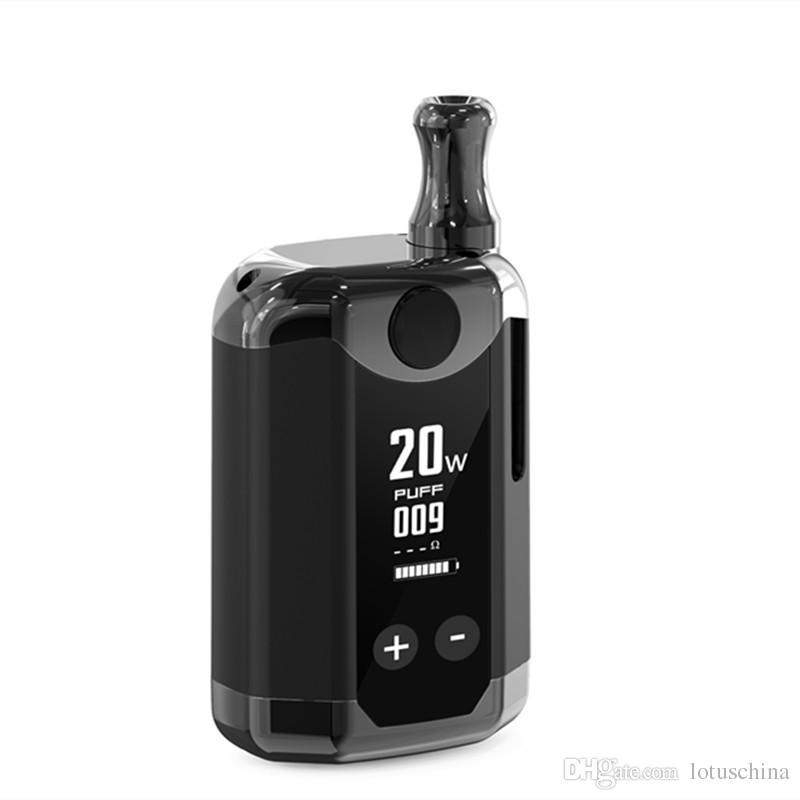 Original Kit Kangvape TH420 V Box 800 mAh 20 W Temperatura Ajustável de Potência Vape Mod TH-420 Kit de Arranque V com 0.5 ml Cartucho de Bobina De Cerâmica