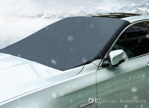 Waterproof Windshield Snow and Ice Front Cover 6 pieces Magnet Inside Car Windshield Snow Cover free shipping