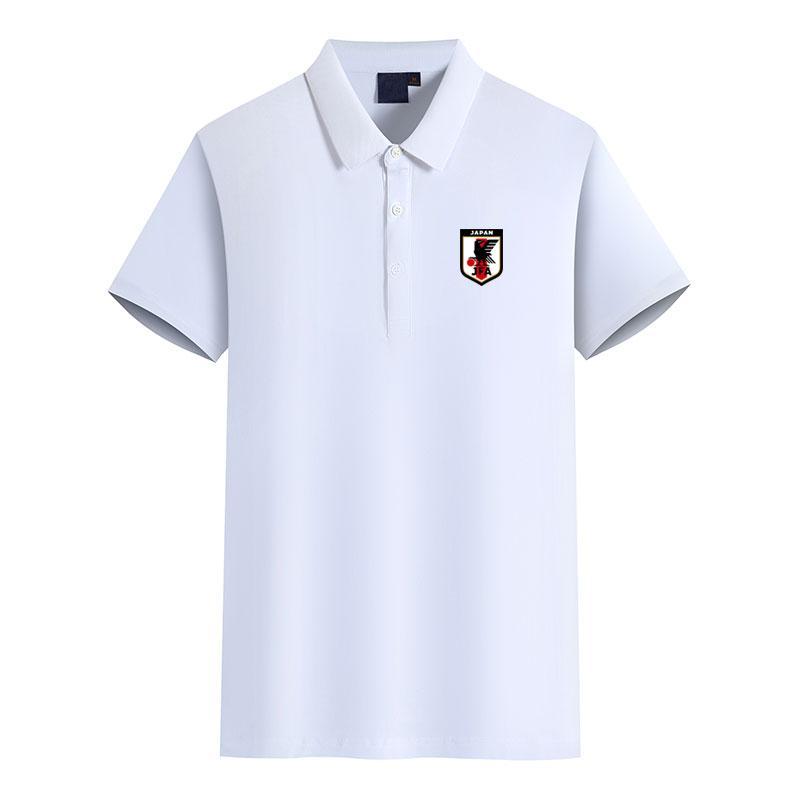 Japonya Erkekler Futbol Kulübü Logo Erkek Moda Golf Polo Tişört Erkek Short Sleeve polo Tişörtlü