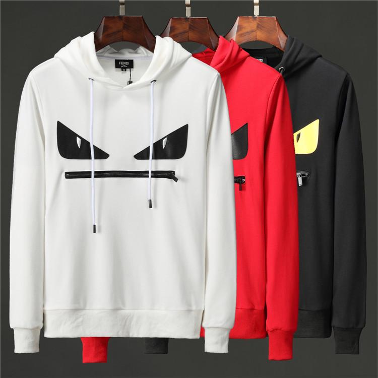 2019 Fall Hoodie Flag Print Men's Fall World Tour Hoodie Embroidery Design Pullover Sweatshirt Long Sleeve Hoodie Clothes