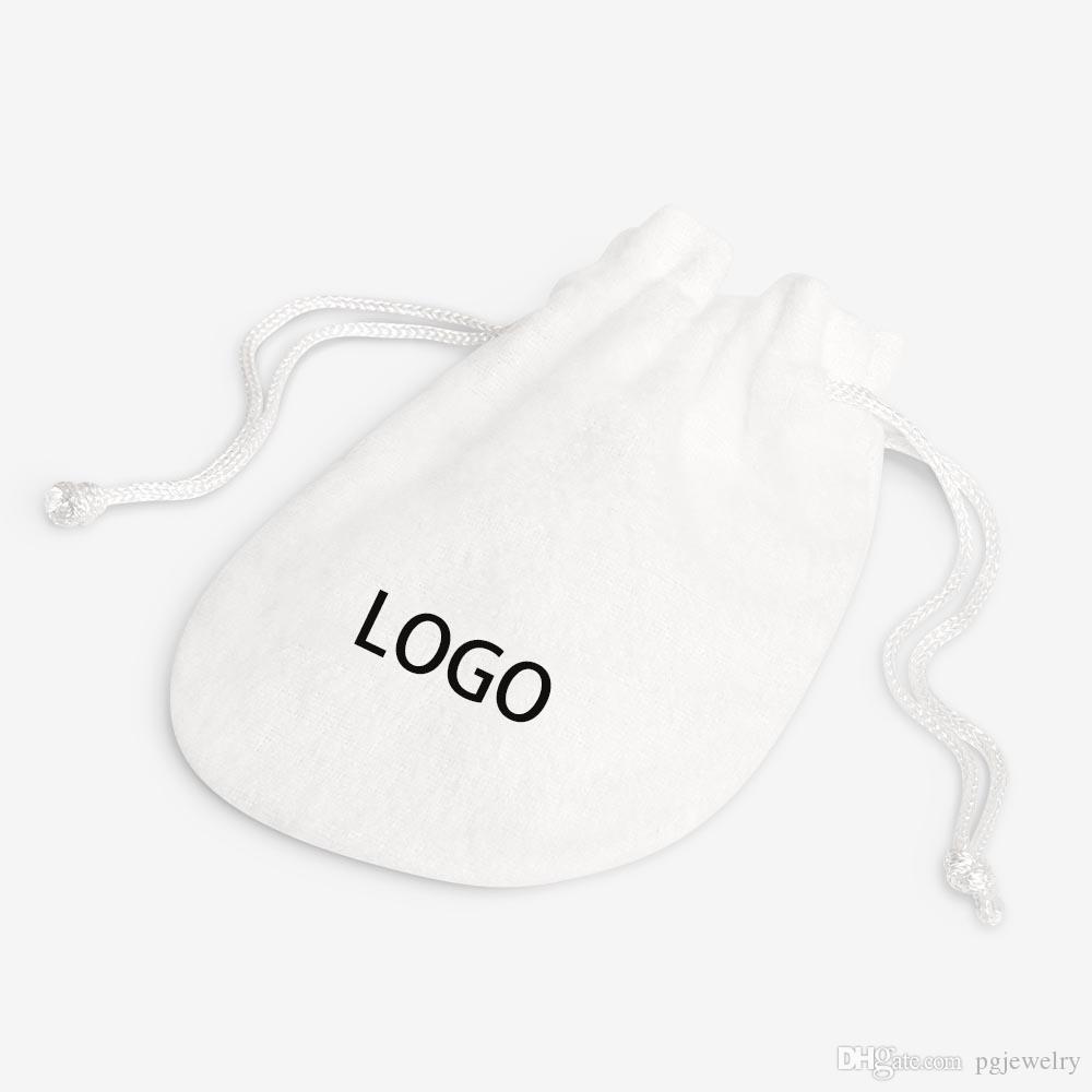 Velvet novíssimo Original Branco Saco azul frete grátis 10 Piece / PAG