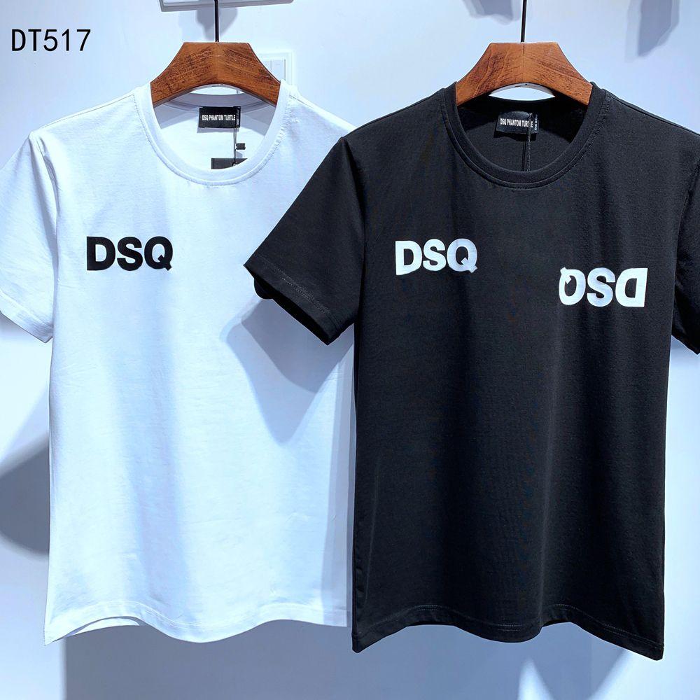 DSQ PHANTOM TURTELT 2020SS neue Mens Designer T-Shirt Paris Mode-T-Shirts Sommer-DSQ-Muster-T-Shirt Männer Top-Qualität aus 100% Baumwolle Top 6860