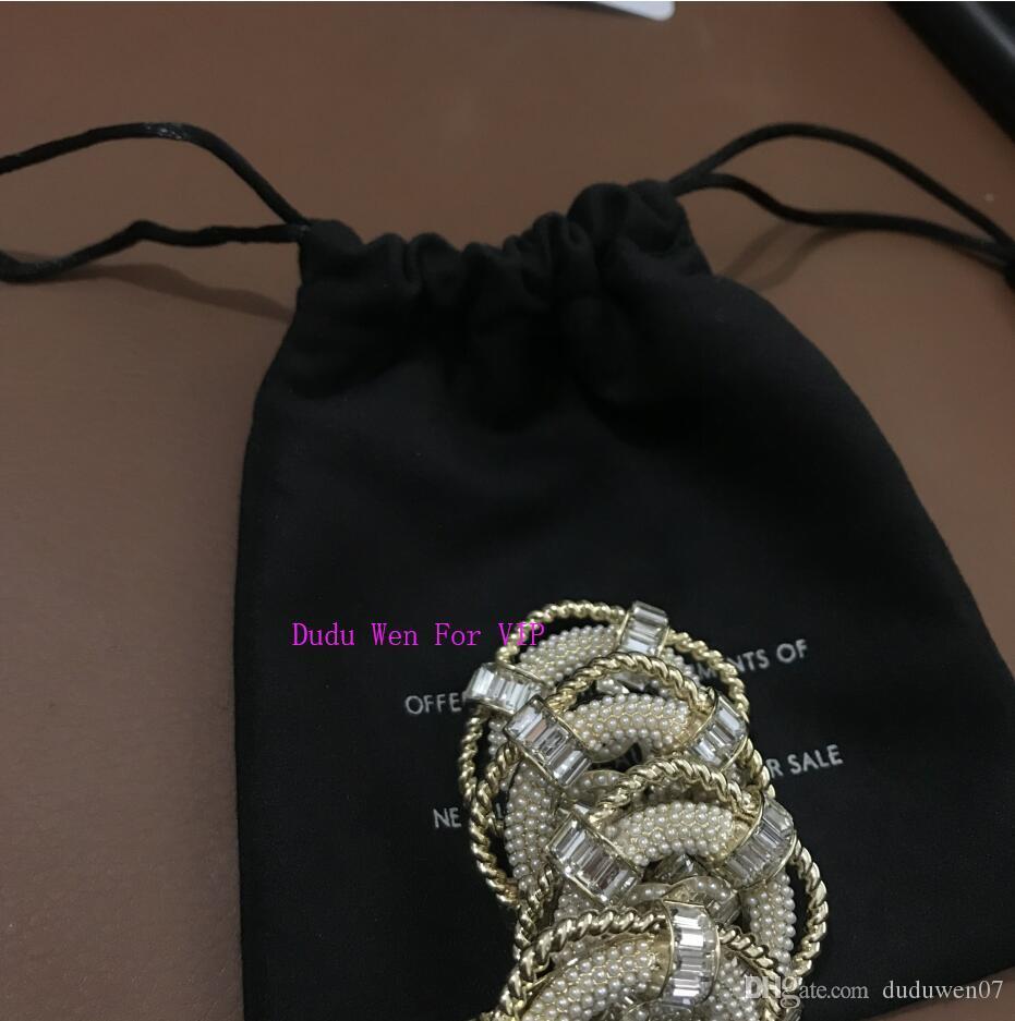 جديد رائع أجوف C الأزياء بروش SWIN حلقة موضوع اللؤلؤ الفاخرة الأزياء رمز breastpin هدية الاكسسوارات جمع الحزب مع دو