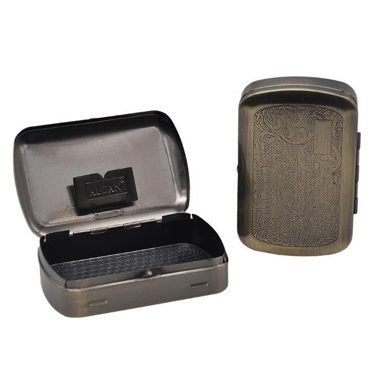 2019 Portable cigarette box, pipe box, paper clip, stainless steel cigarette box