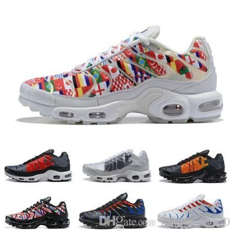 Mercurial TN Plus Mens Casual Shoes Men Casual World Cup Sneakers Women Multicolors Sport Outdoor Cheap Hiking Jogging Walking Shoes 36-45