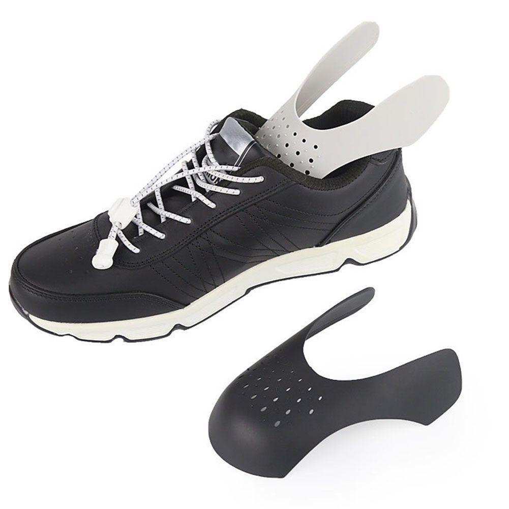 1 Çifti Shaper Ayakkabı Genişletici Burun Cap Destek Sneaker Shield Pratik Hafif Evrensel Koruyucu Bükme Çatlak Karşıtı Kırışıklık