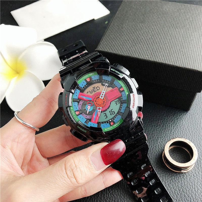 reloj hombre 48 millimetri grandi orologi uomini nuovi uomini di sport di marca orologi data automatica giorno da polso digitale nero guarda il regalo di clock per il ragazzo