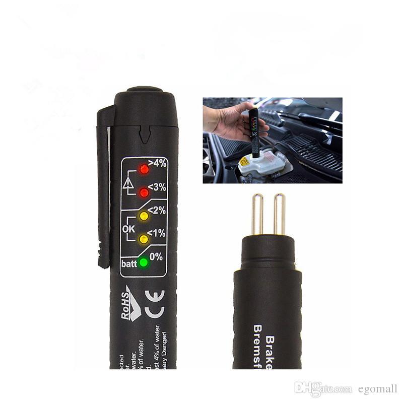Automotivo freni Pen Tester fluidi per veicolo DOT3 Auto / DOT4 freno Liquido Auto Automotive Testing strumento Accessori auto