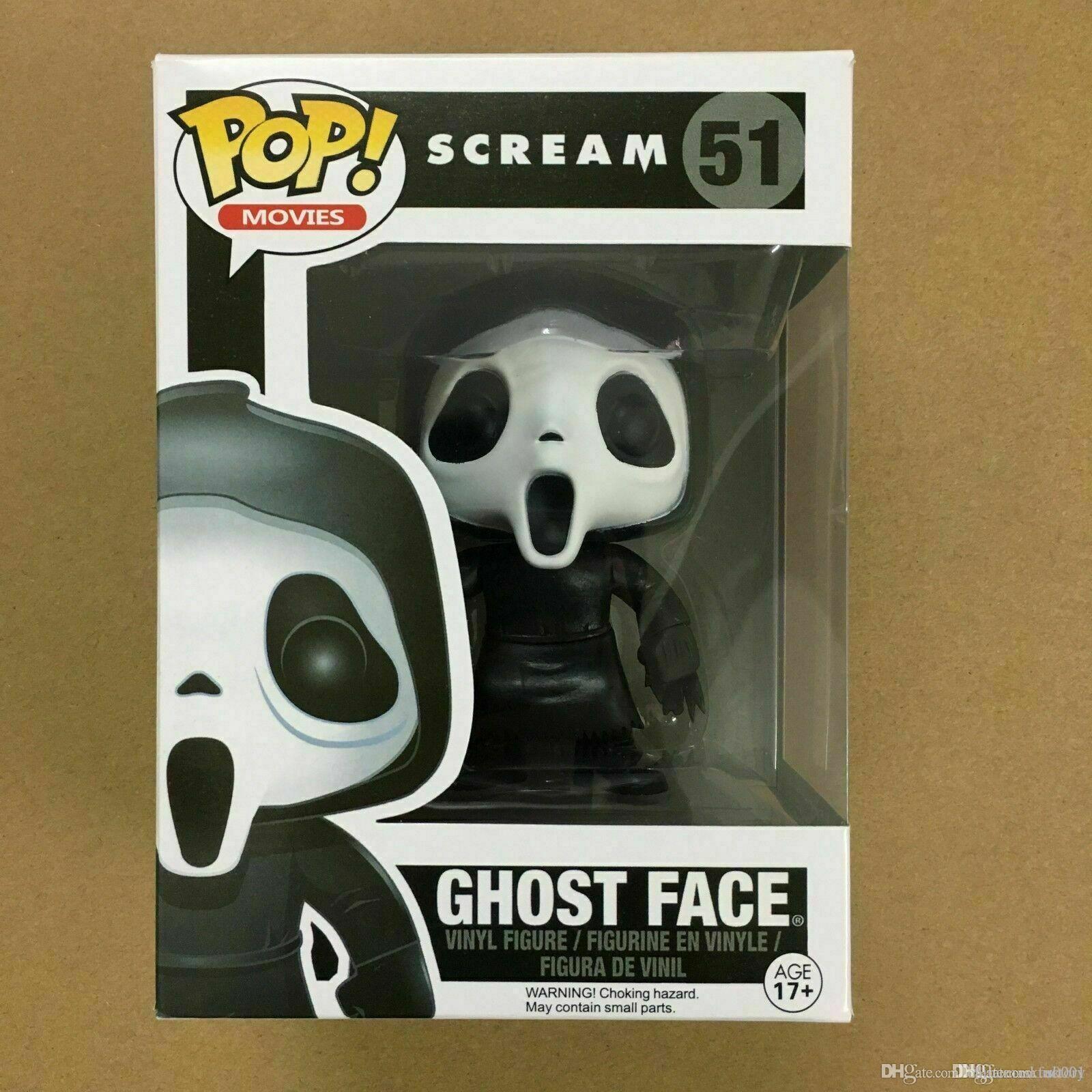 China Estados Unidos Funko Pop! Grito de vinilo figura nueva con caja GHOSTFACE nuevo diseño Halloween