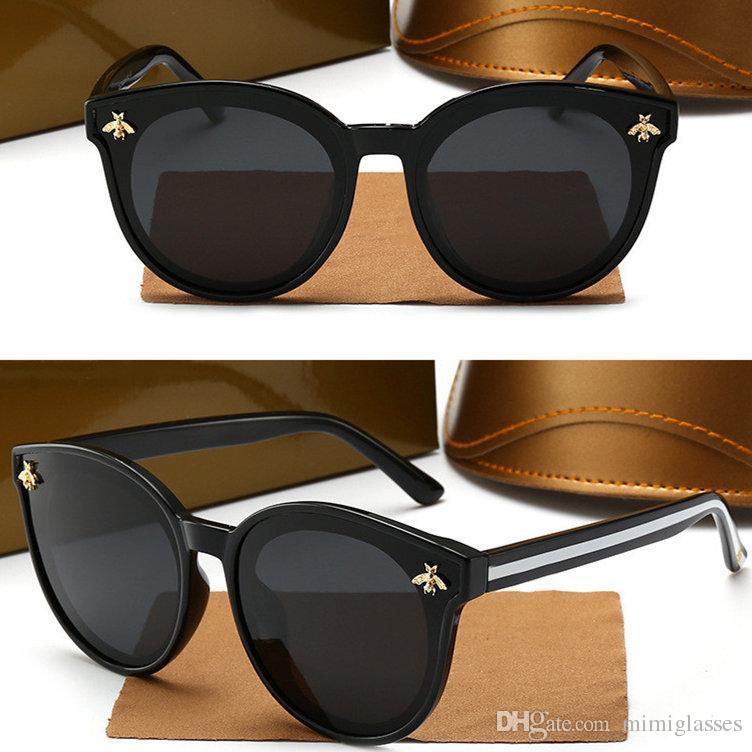 8836 Occhiali da sole Occhiali da sole Trend Bee Brand Fashion Sunglasses Driving Sun Designer Donne Polarized Retro Occhiali originali JMLSK