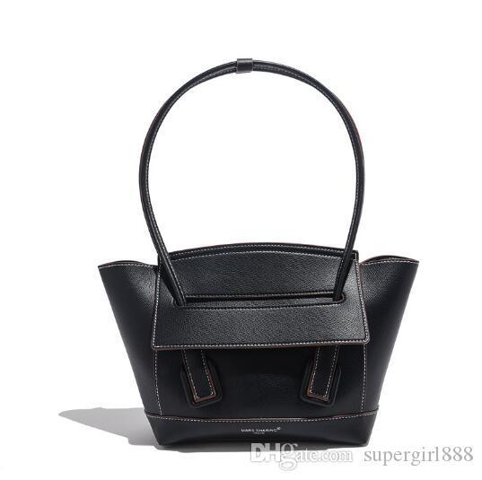 Ünlü tasarımcı moda lüks çanta yayın balığı yumuşak deri bayan çantası sonbahar ve kış yeni geniş kapasiteli vahşi moda çanta omuz çantası