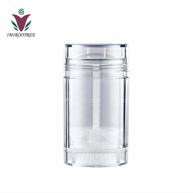 Imirootree 10 stücke 30ml 50ml Klarer leerer Kunststoff Runde Deodorant Container Lippen Balm-Tuben für Lippenstift Crayon, Lippenstift, hausgemachte Lippenbalsam-Röhre