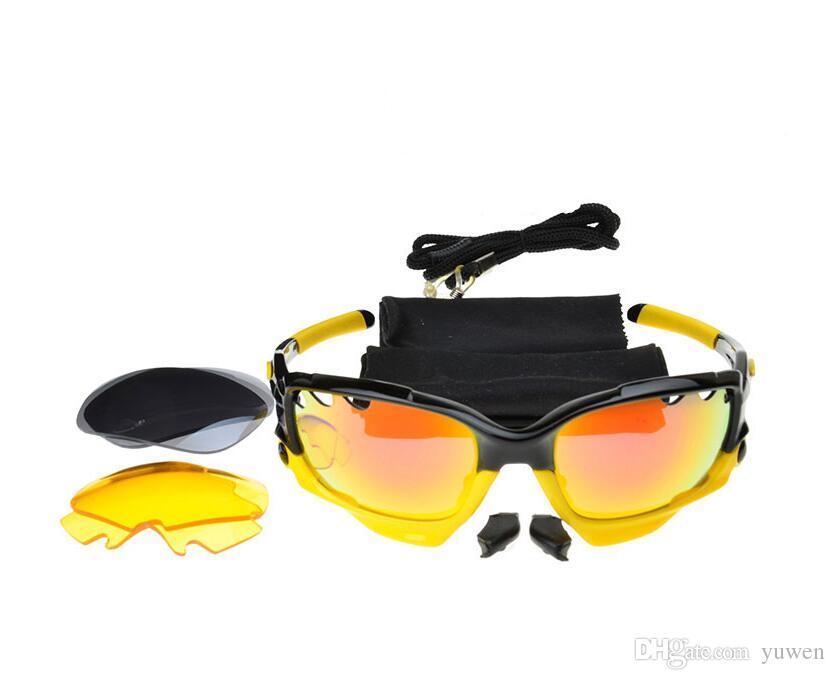 Occhiali da sole Occhiali 3 Occhiali da uomo Occhiali da uomo Sport Brand Occhiali Eyewear Donne Lente Bicicletta Ciclismo Qualità Sole Sport Occhiali da sole Alti con B VHGJ