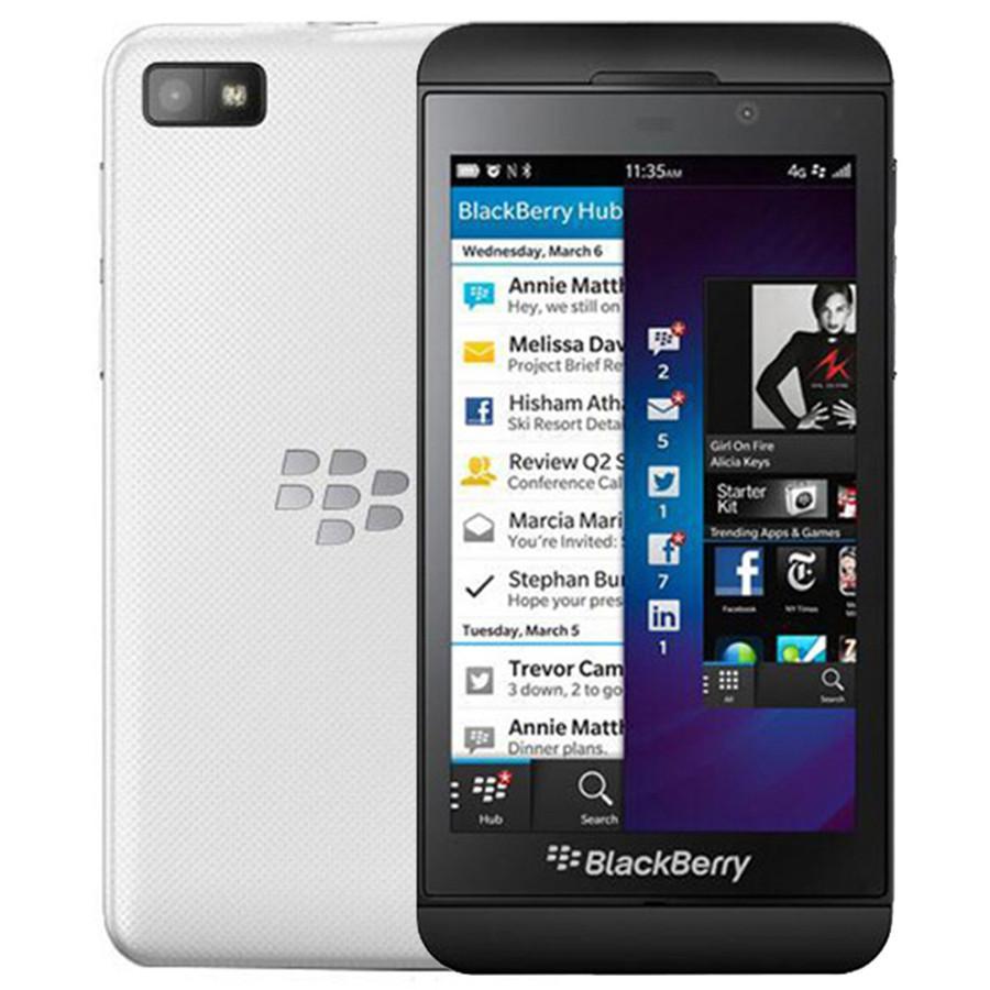 Recuperado Original Blackberry Z10 4.2 polegadas Dual Core 2GB RAM 16GB ROM 8MP Câmera Desbloqueado 4G LTE Smart Mobile 1pcs DHL Celular