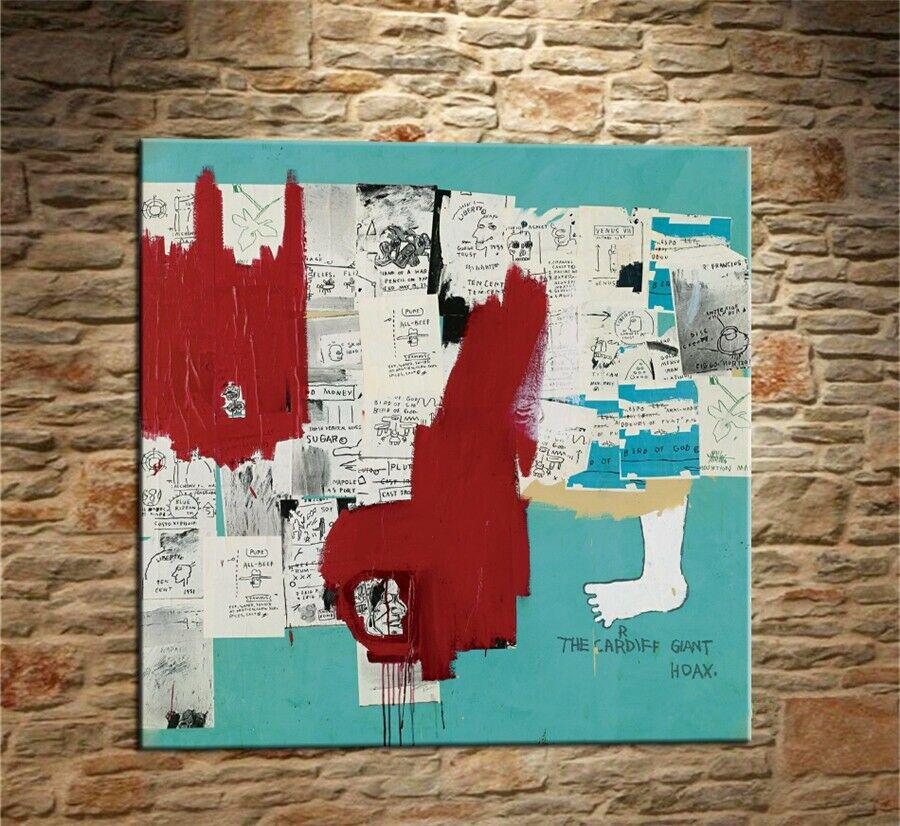 Jean Michel Basquiat Graffiti-Kunst # 238 Wohnkultur Handwerk / HD-Druck-Ölgemälde auf Leinwand-Wand-Kunst-Leinwandbilder 200303