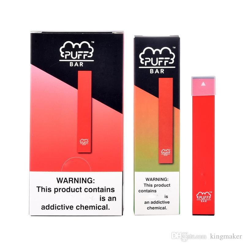 Alta Qualidade Puff Bar Vape Pen Pod Kit portátil Vape Starter Kit 1,3ml óleo Pod Grosso cartuchos de 280mAh Bateria descartável vaporizador