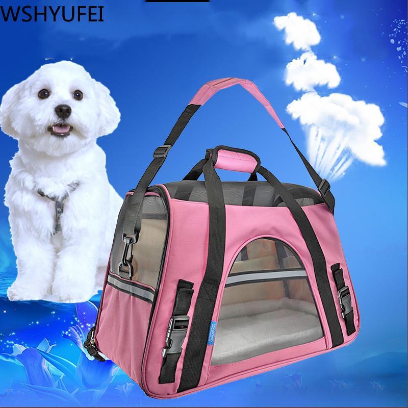 الحيوانات الأليفة على ظهره في فصل الشتاء والصيف الدافئة على ظهره للتنفس الحيوانات الأليفة على ظهره في الهواء الطلق حقيبة السفر سيارة تحمل حقيبة لوازم WSHYUFEI