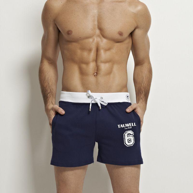 브랜드 남성 반바지 느슨한 짧은 바지 캐주얼 송아지 - 길이 조깅 남성 반바지 스웨트 팬츠 피트니스 남자 운동면 반바지 크기 S-L