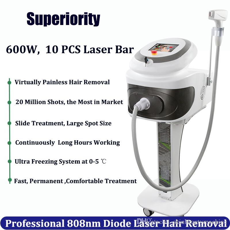 2019 Best Professional Laser Hair Removal Machine 808nm Diode