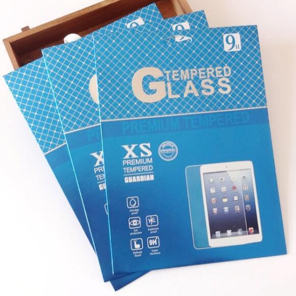 U Style Empty Retail Package Paper for Tempered Glass Screen Protector Package packaging boxes for ipad mini air Pro 2 3 4 5