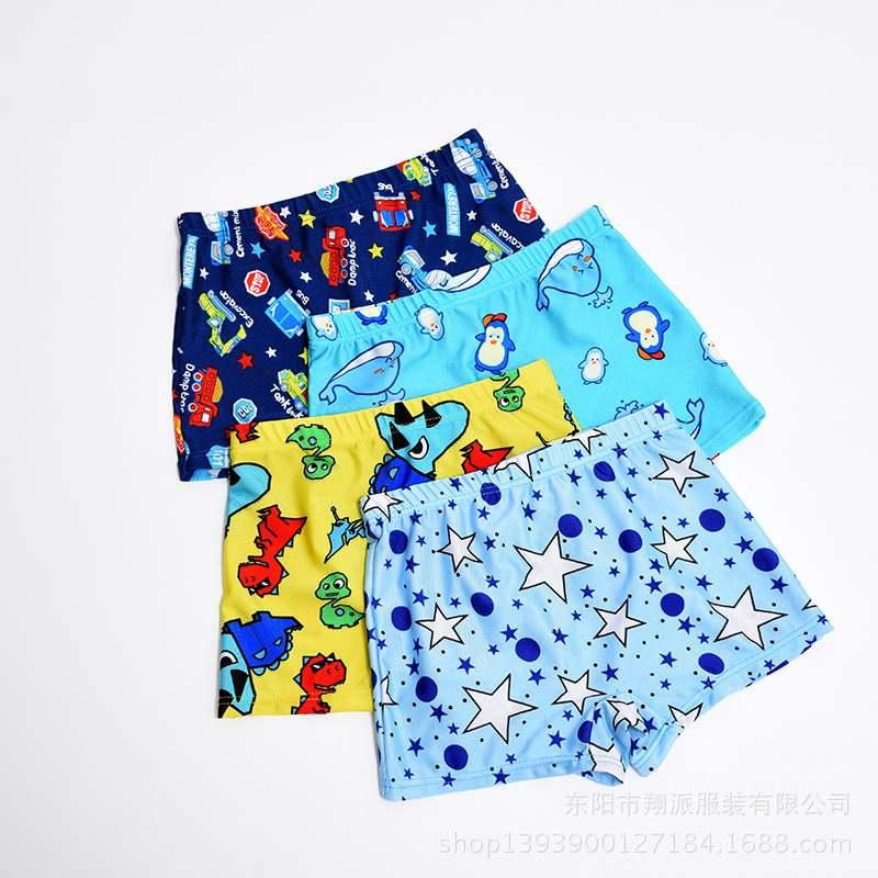 1PC Cozy Little Boys Quick Dry Beach Swimwear Shorts Baby Kid Child Swimming Trunks Swimsuit Summer Cartoon Printed Toddler