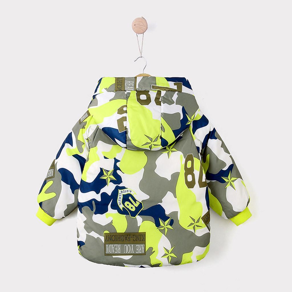2019 chaqueta de camuflaje de primavera de los niños del otoño para la capa de los muchachos rompevientos para niños muchachos de la ropa con capucha para niños Outwear la manera del niño