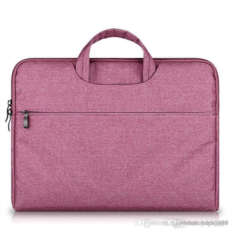 UK Briefcase Large Capacity Laptop Handbag Notebook Bag For Men Women Travel Bussiness For 11 12 13 14 15.6 Inch Macbook Pro PC Sleeve Case