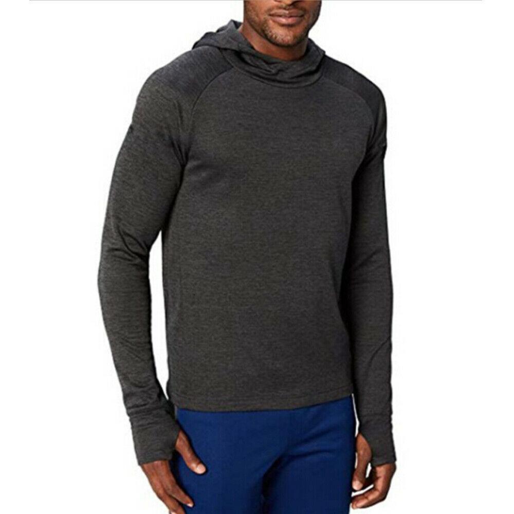 2019 Fashion Tendance Nouveau Hommes Automne pré-automne à capuche Gym mince manches longues Sweat-shirt décontracté solide simple Loisirs Hauts Sportswear