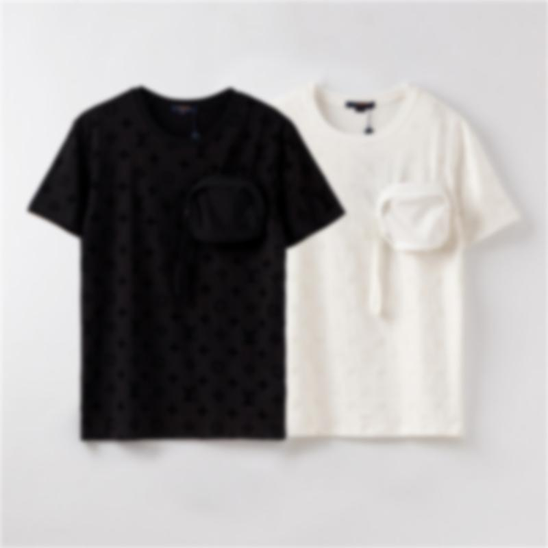 Mens Designer T-shirt del Mens di modo di estate delle donne Borse magliette di marca dei manicotti magliette Primavera floreali Streetwear T superiori AE1 2050600V