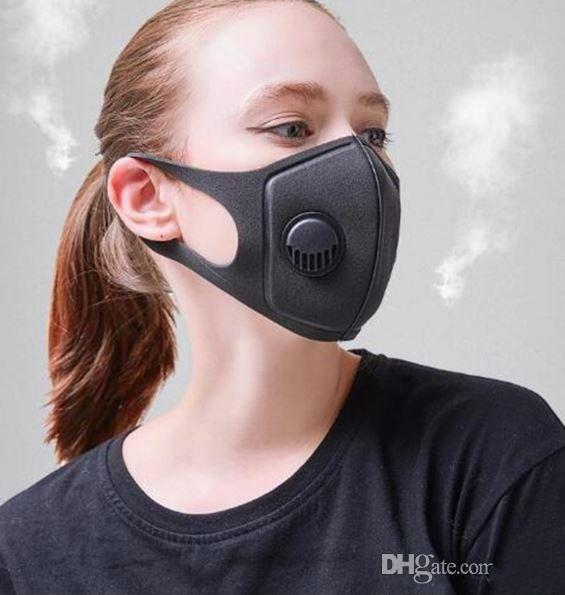 gemi hazır! Japonya Pide Yıkanabilir Rahat Maskeler Maskeler Anti-Dust Nefes Anti-sis ve Haze Sünger Maske