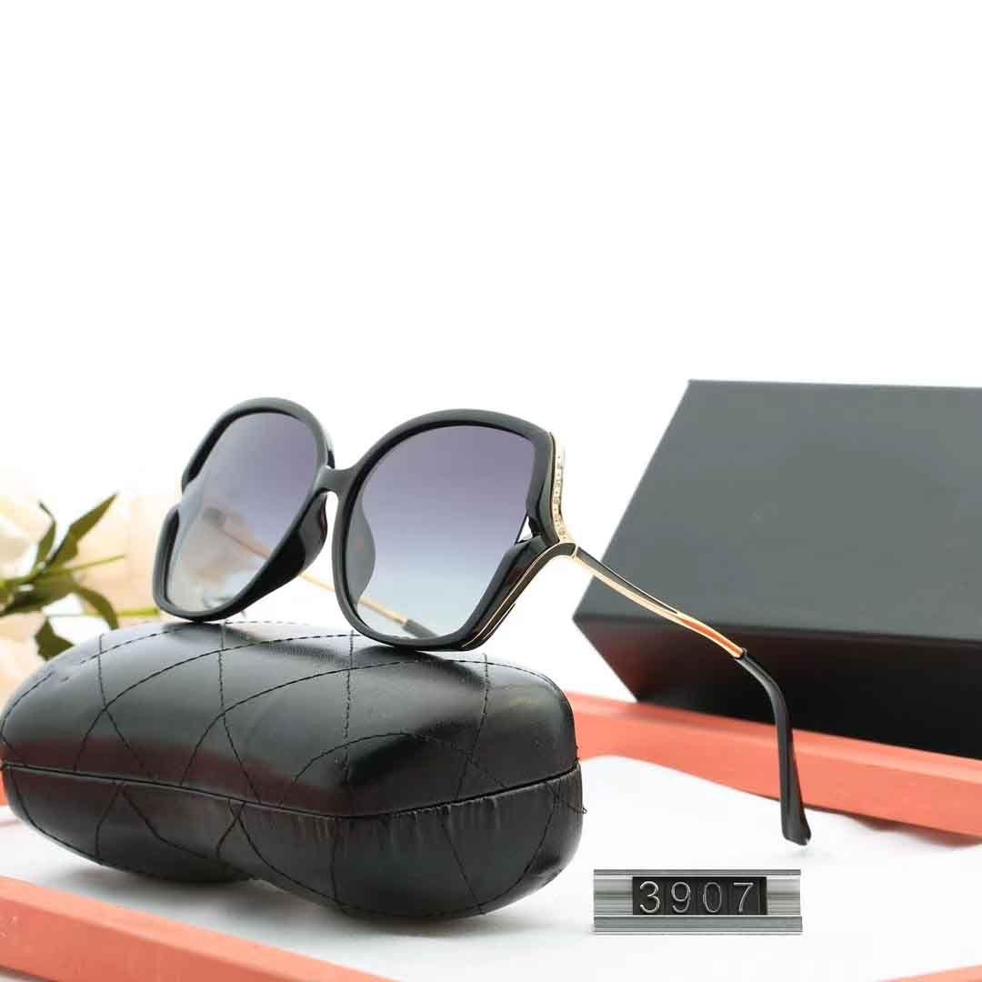 3907 جودة عالية الاستقطاب عدسة الطيار مصمم أزياء النظارات الشمسية للرجال والنساء العلامة التجارية النظارات خمر الرياضة أحد مع القضية، وعلبة