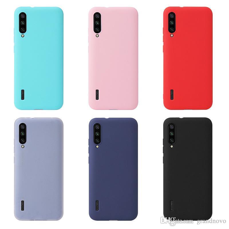 Конфеты цвет тонкий матовый матовый мягкий силиконовый чехол TPU чехол для Xiaomi Mi Note 10 Pro 9 SE 9T 8 Explorer Lite 6X Plus Mix Max 3 A2 Play CC9E