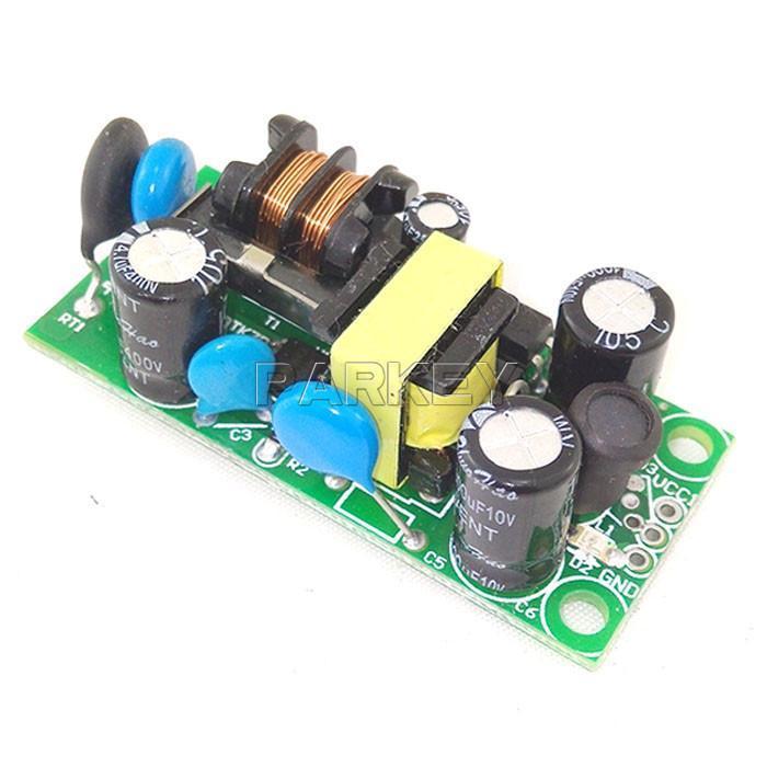 Envío gratuito 20PCS AC / DC 5V 800mA Módulo de conmutación 220V / 110V a 5V AC DC Convertidor reductor de CA 85 ~ 265V a DC 5V Buck Módulo # 210006