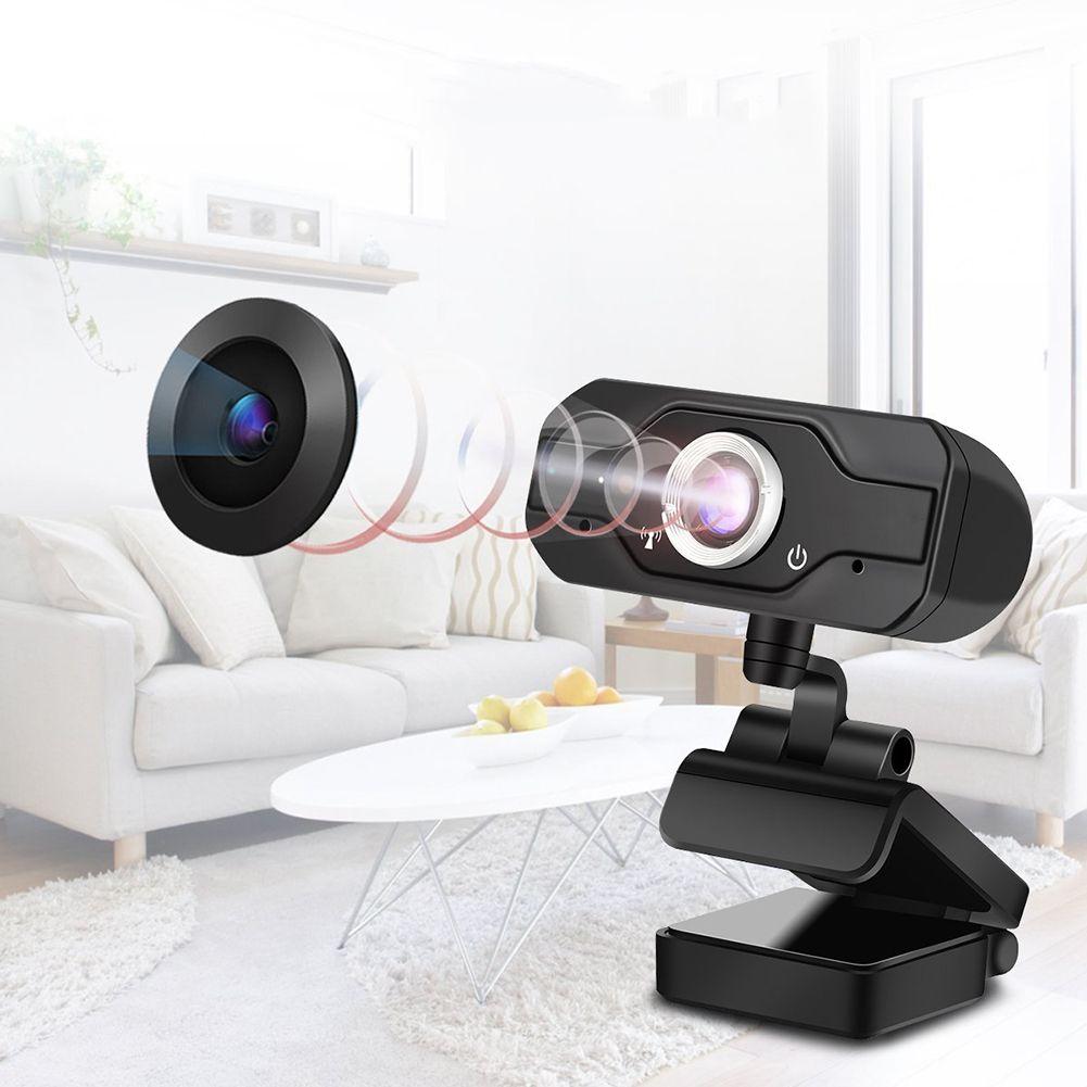 Portable Mini USB Webcam HD 1080P PC Web Camera Convenient Live Broadcast with Microphone Digital USB Video Recorder