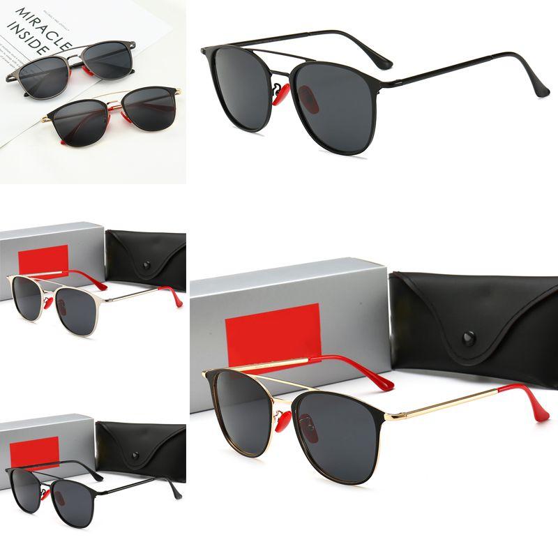 3601 designer de moda óculos de sol SL de metal tendência quadrado estilo popular de qualidade superior proteção UV400 óculos ao ar livre com caso,
