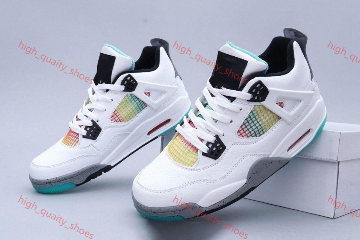 Nike Air Jordan 4 2020 Cat 4 4s баскетбол обувь мужчины мужской белый цемент Encore крылья огненные SINGLES стилиста кроссовки IV Pure Xshfbcl деньги тренеров