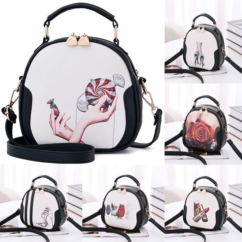Umhängetaschen Wemon 2019 Wamon Fashion Bag Neue Trendy Baggage Girl Koreanische Version Frische Kleine Duft schräge Tasche Crossbar Square 6Colours