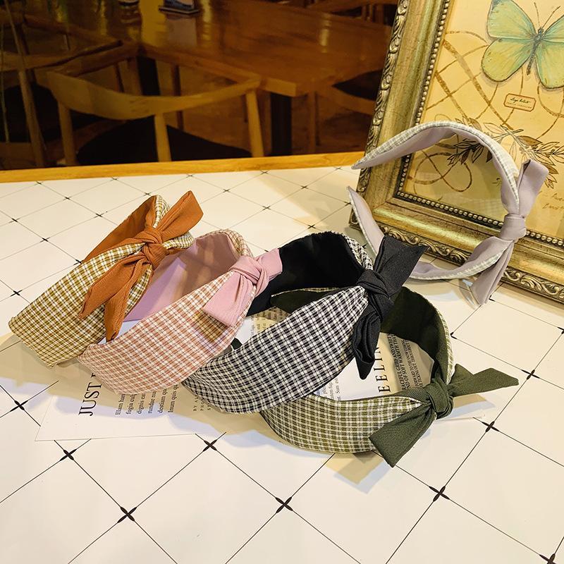 Büyük yay sevimli pastoral Mori kız saç bandı Şapkalar akademik stil saç bandı IUY3 hepsi maç