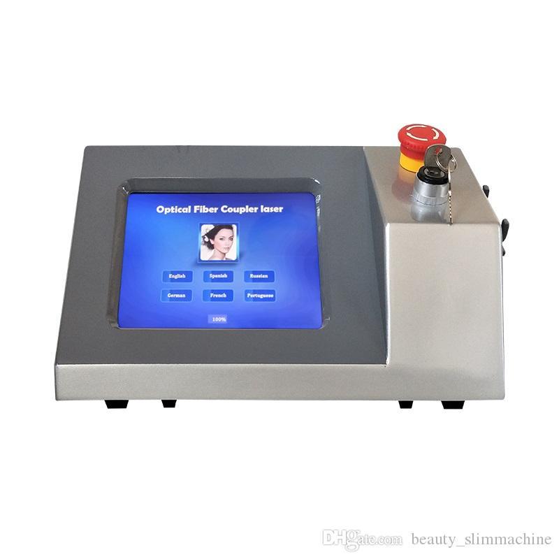 سعر المصنع !!! نتيجة جيدة 980nm ديود ليزر العنكبوت الوريد آلة إزالة 980 ديود ليزر إزالة الأوعية الدموية صالون
